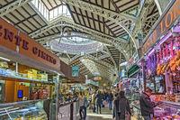 Indoor Market,Valencia Old Town, Spain