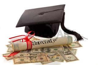 Doktorhut und Dollar. Bildungskosten in Amerika.