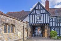 Abbot Reginald's Gateway Evesham, Worcestershire UK
