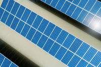 solar energy closeup
