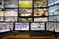 City surveillance control center