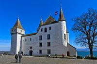 Schloss Nyon, Nyon, Waadt, Schweiz