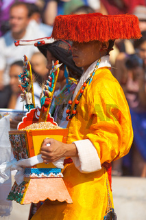 Tibetan Male Traditional Clothes