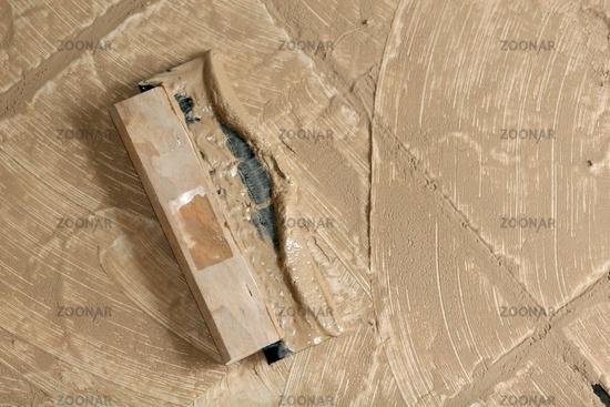 Foto Fliesen Verfugen Bild - Fliesenboden verfugen