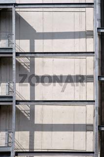 Stahlgerüst Industriegebäude