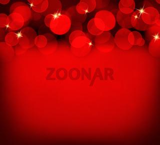 Christmas Bokeh background.
