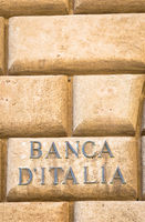 Bank of Italy text