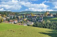 Wallfahrtsort St.Maergen im Schwarzwald,Baden-Wuerttemberg,Deutschland