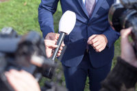 TV, media or press interview