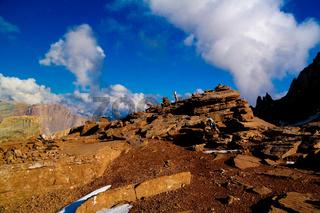 Ziyarat in Schalbus-Dag mountain, Dagestan, Caucasus Russia