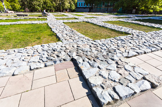 foundation of The Church of the Tithes in Kiev
