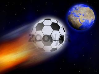Fussballkomet