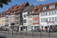 Fachwerkhäuser, Domplatz, Erfurt