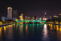 Canton tower and pearl river