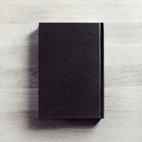 Black cover book
