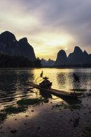 The cormant fisherman in li river