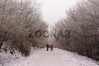 hiking up the nogodan peak