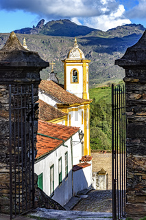Churches and mountains of Ouro Preto