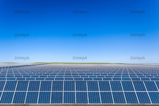 solar energy on prairie