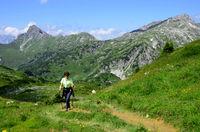 Wandern im Lechquellengebirge