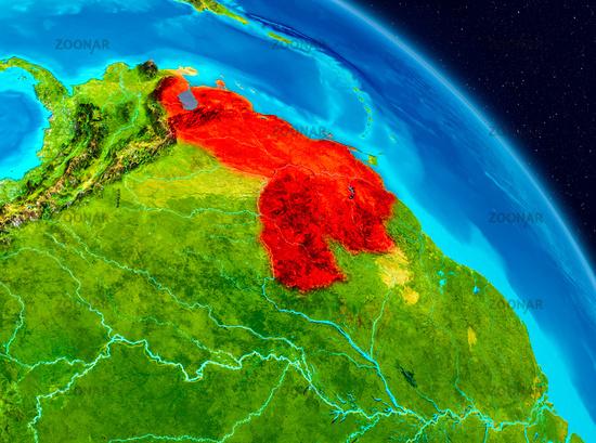 Venezuela on Earth