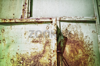rostige Tür