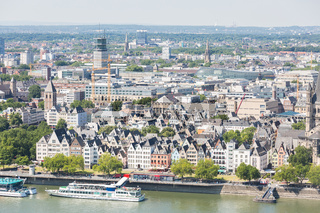 Cologne aerial view