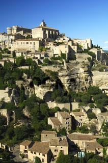 Gordes auf dem Monts de Vaucluse, Frankreich