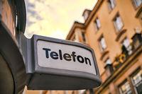 Telefonzelle in Dresden
