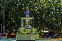 Fountain Located In Pall Mall Square Basseterre St. Kitts