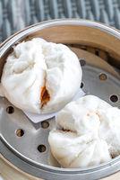 Chinese dim sum BBQ Pork Bun