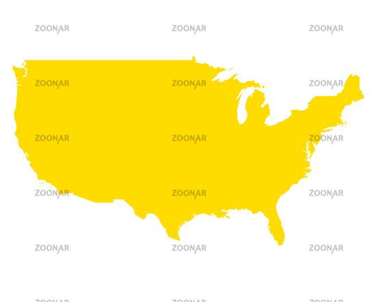 Foto Karte der USA - Map of USA Bild #11700793