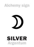 Alchemy: SILVER (Argentum)