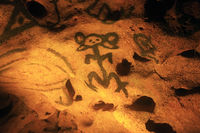Cave with ancient drawings - Cueva de las Maravillas