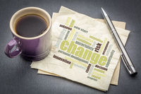 change word cloud on napkin