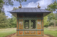 The Chinese House Stowe Gardens Buckinghamshire UK