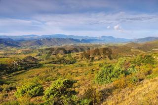 Corbieres Landschaft im Süden Frankreichs - Corbieres landscape in southern France