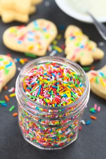 Colorful Sugar Sprinkles