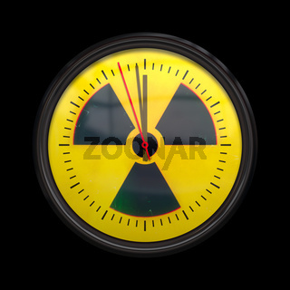 radioactive clock