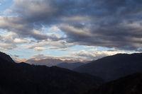 Sunrse at Colca Canyon in Peru
