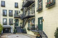 Apartment Block, Quebec City, Canada