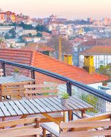 Porto view restaurant, Portugal