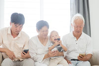 Smartphone addicted family