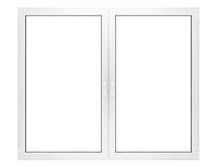 window isolated on white background
