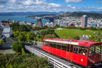 Wellington city cable car, New Zealand