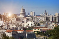 Havana. View of the old city