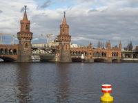Oberbaumbrücke an der Spree
