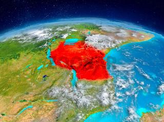 Tanzania on Earth