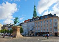 Hojbro Plads in the center of Copenhagen