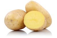 Kartoffeln frisch Gemüse Freisteller freigestellt isoliert